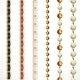 Chain Belt With Variations Of Color And a Chain