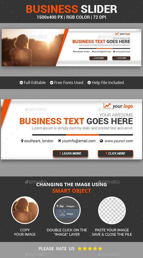 Business Slider v1 - Sliders & Features Web Elements
