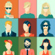 Avatars Icons - GraphicRiver Item for Sale
