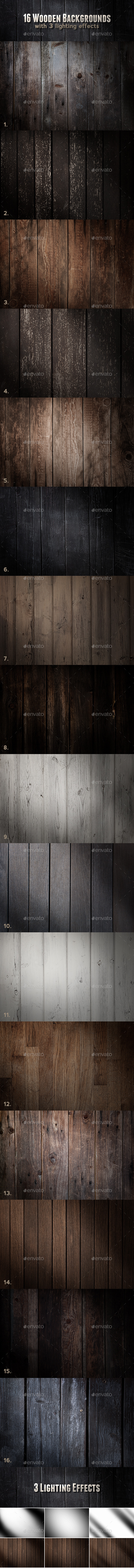 Wood Backgrounds - Wood Textures