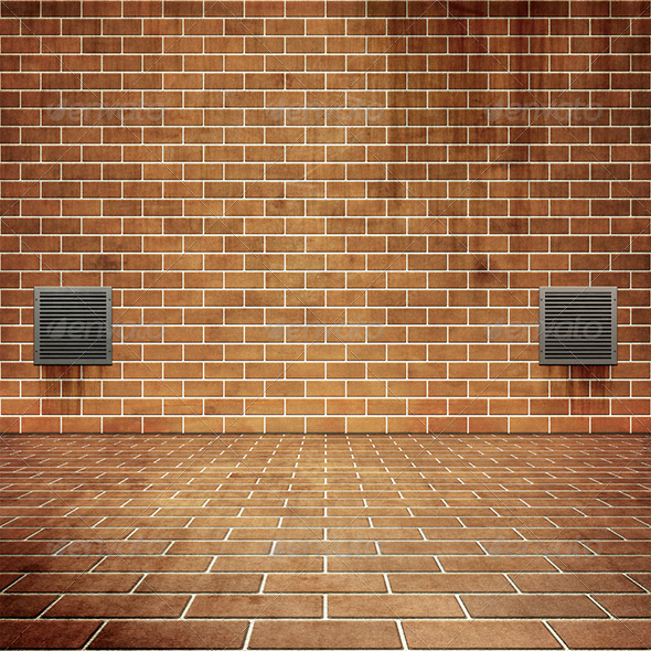 Red Bricks - Backgrounds Graphics