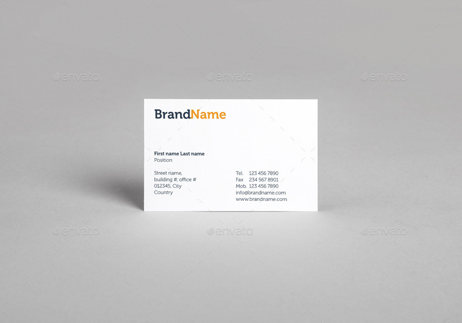Business cards mock ups template by vitalliy graphicriver for Ups business cards templates