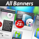 Unique Web Marketing Banner Set - GraphicRiver Item for Sale