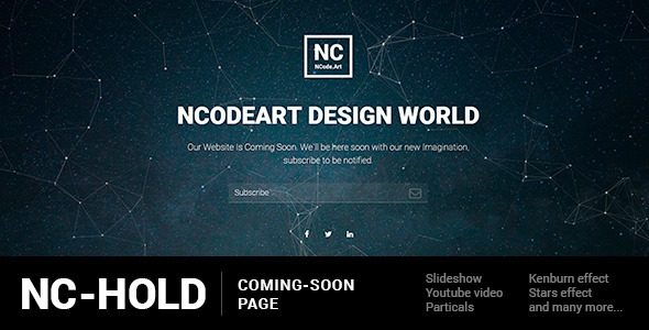 NC-Hold Coming-Soon Page
