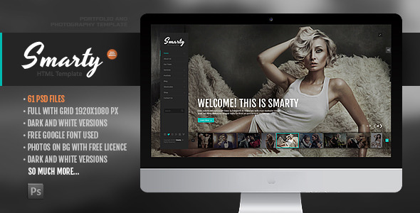 Smarty - Creative Agency &  Portfolio Template with RTL Version