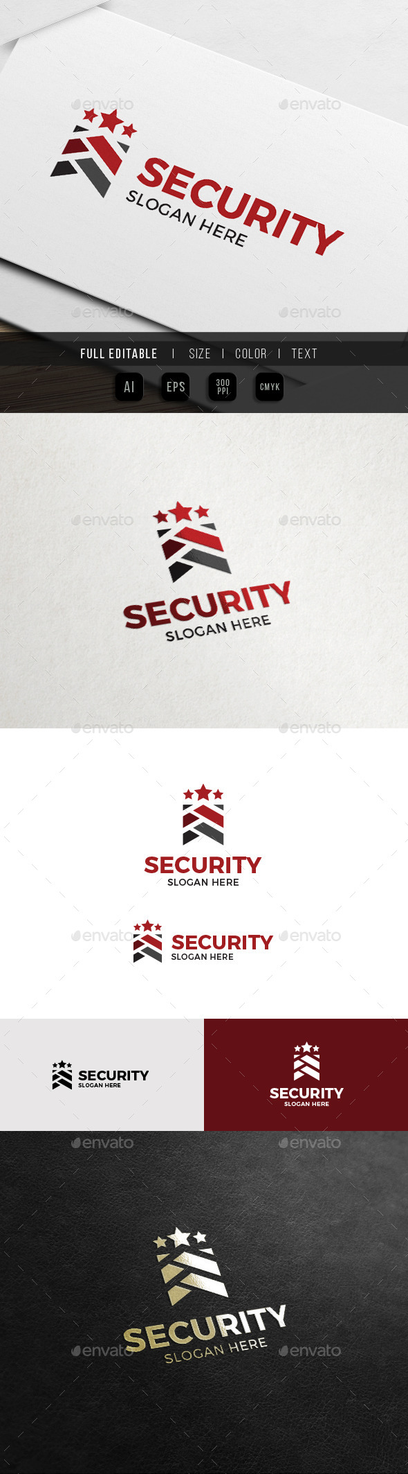 Army Security - Military Service Logo - Symbols Logo Templates