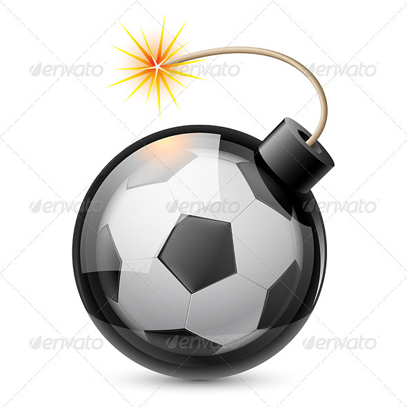 Abstract Football Shaped Like a Bomb - Miscellaneous Characters