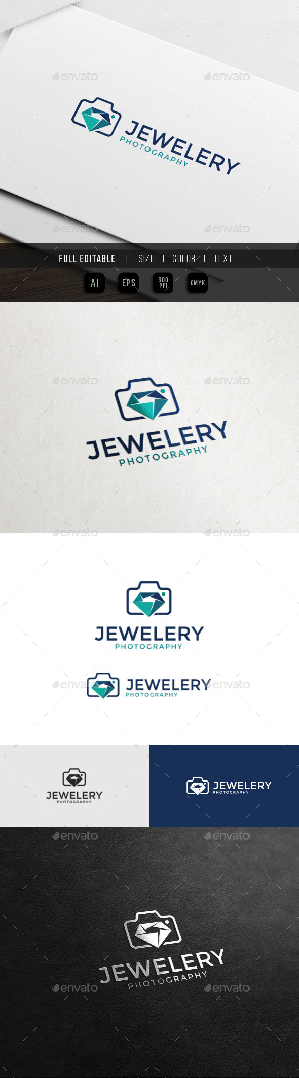 Event Premium Photography - Jewel Camera - Objects Logo Templates