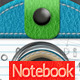 Leather Notebook Photoshop Creator