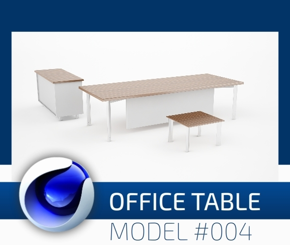 Office Collection Model 004 - 3DOcean Item for Sale