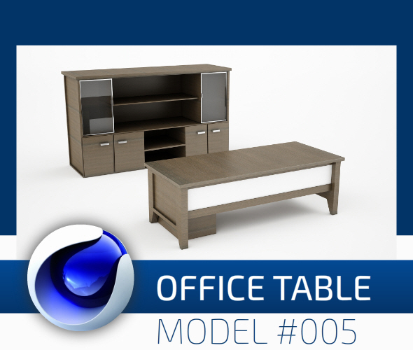 Office Collection Model 005 - 3DOcean Item for Sale