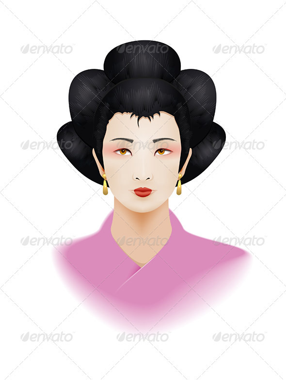 Geisha - People Characters