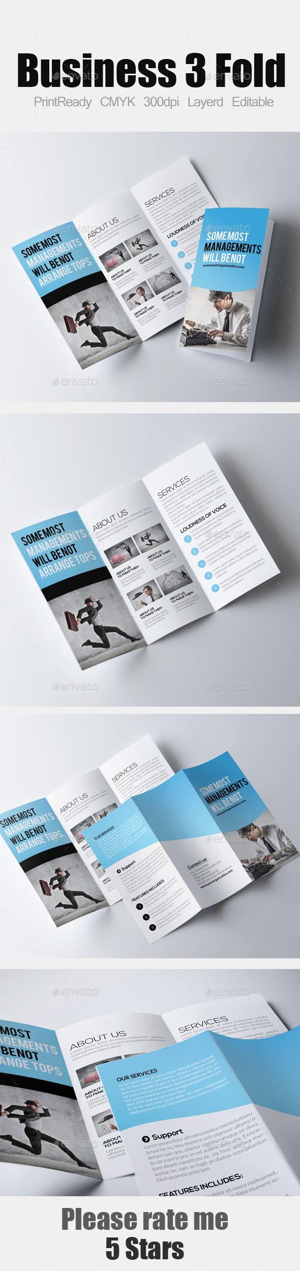 Tri Fold Business Brochure - Corporate Brochures