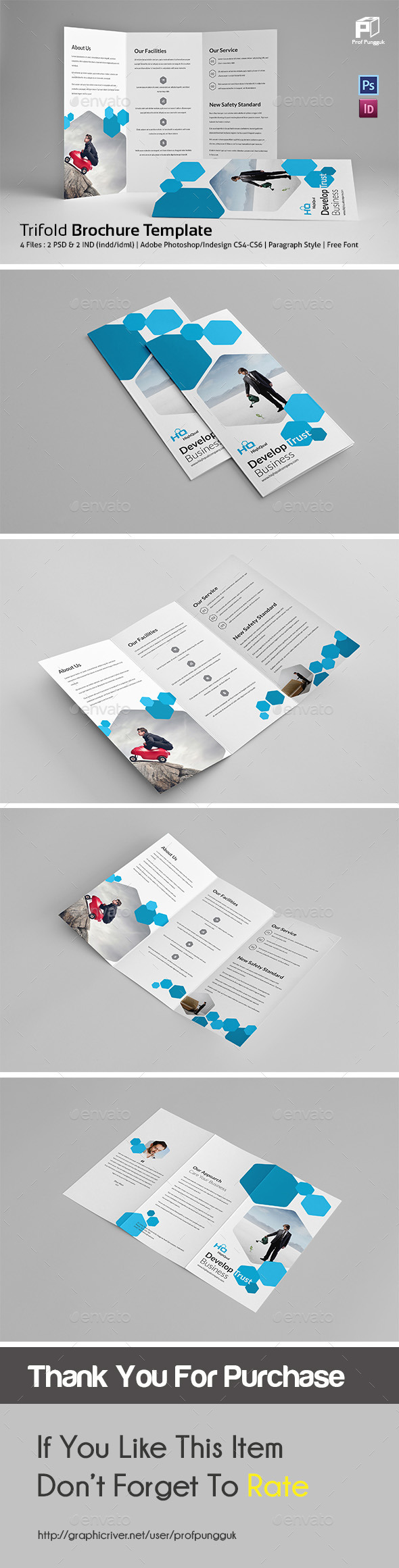 Business Trifold Vol.5 - Corporate Brochures