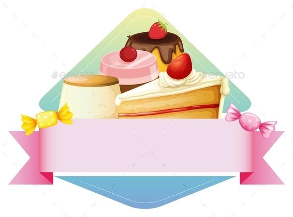Dessert - Food Objects