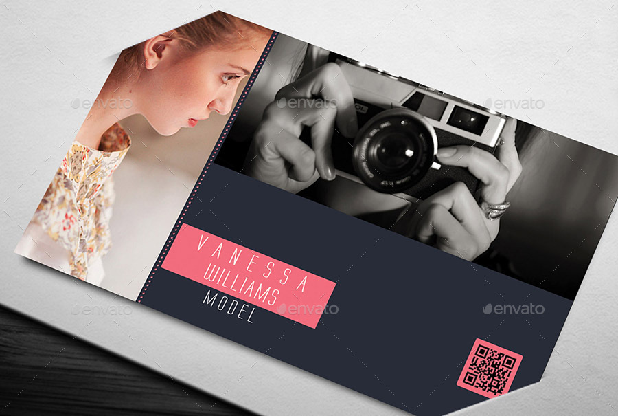 Photography Model Business Card By Suzonabdullah Graphicriver