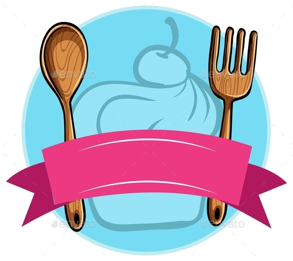 Fork and Spoon - Objects Vectors