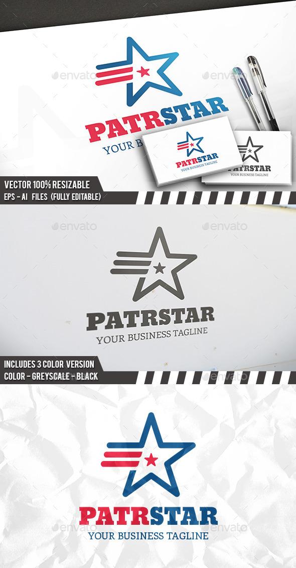 Patriot Star Logo - Symbols Logo Templates