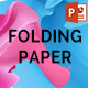 Folding Paper PowerPoint Template - GraphicRiver Item for Sale