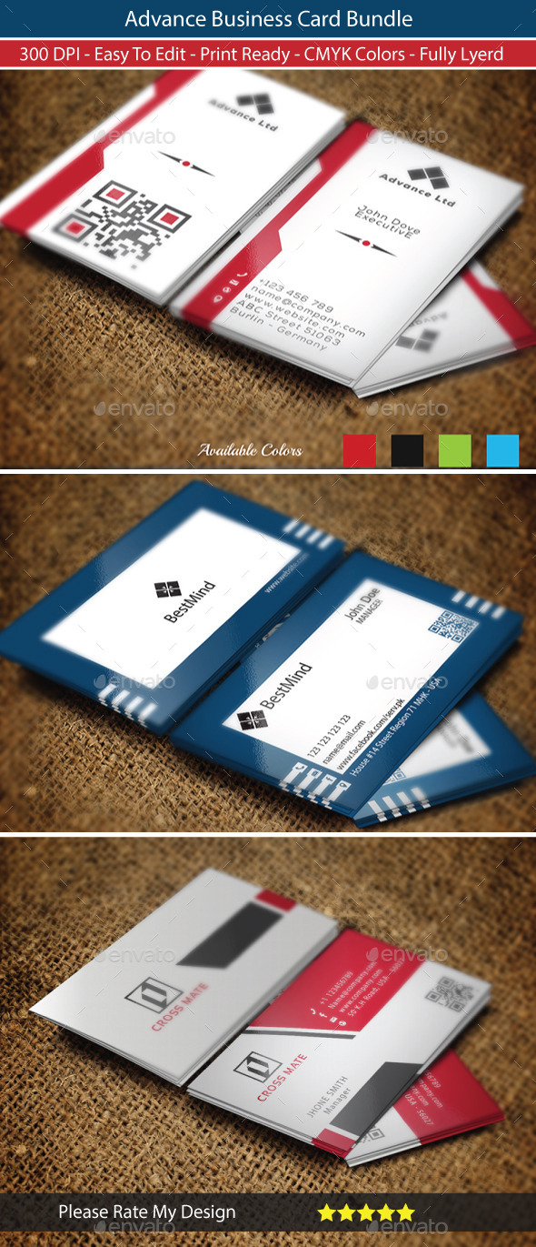 Advance Business Card Bundle