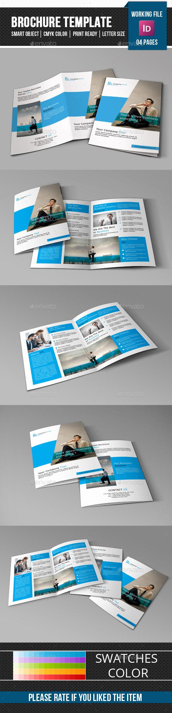 Corporate Bifold Brochure-V286 - Corporate Brochures