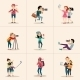 Character Design Posing with Camera - GraphicRiver Item for Sale