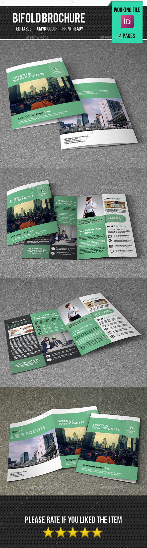 Corporate Brochure Template-V287