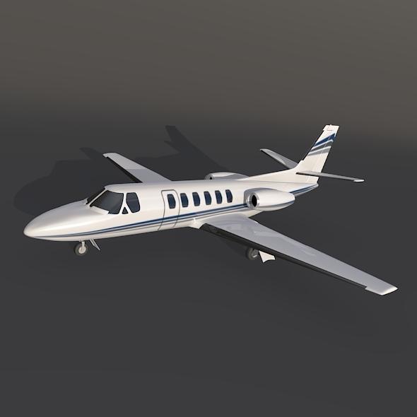Cessna 550 citation II private jet