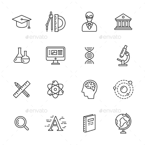 Science Icons - Icons