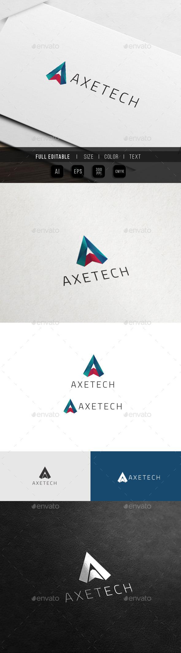 A Logo - Multimedia - Agency Studio Logo - Letters Logo Templates