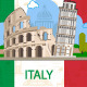 Italian Landmarks - GraphicRiver Item for Sale