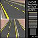 asphalt highway texture - 3DOcean Item for Sale