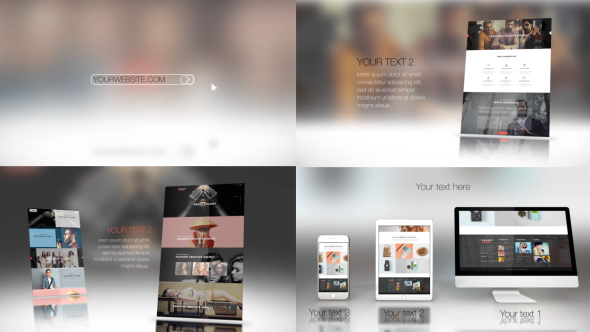 website presentation 2 by maxslash videohive