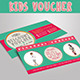 Kids Voucher - GraphicRiver Item for Sale