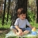 Child Eats In The Trees - VideoHive Item for Sale