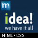 idea Business Shop Blog Template HTML Nulled