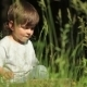 Child Playing In The Grass - VideoHive Item for Sale