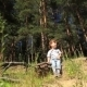 The Kid In The Woods - VideoHive Item for Sale