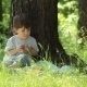 Child Eating Outdoors - VideoHive Item for Sale
