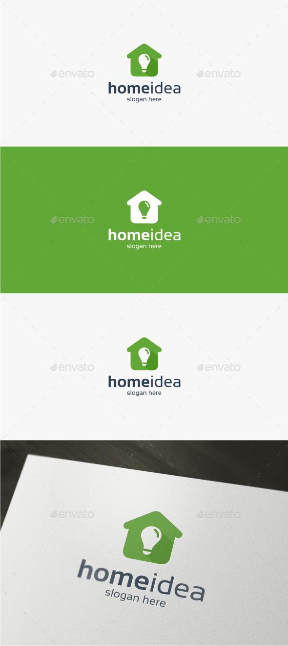 Home Idea - Logo Template - Buildings Logo Templates