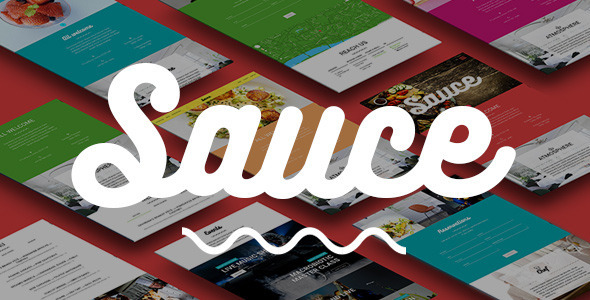 Sauce — Material Design Restaurant & Cafe Template - Restaurants & Cafes Entertainment