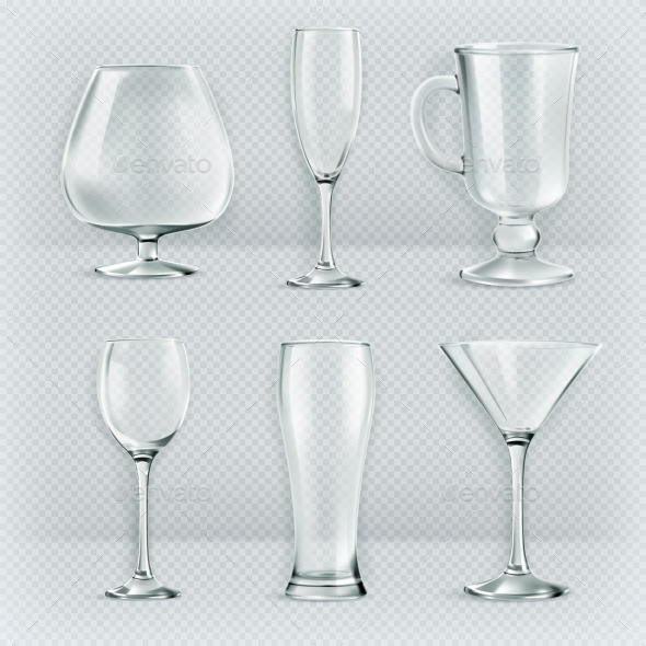 Cocktail Glasses Collection - Man-made Objects Objects