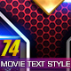 74 Movie Text Style Bundle - GraphicRiver Item for Sale