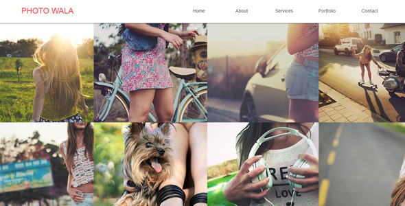 Photo Wala – Portfolio Muse Template
