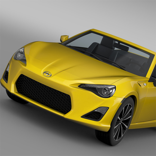 Scion FR S Cabrio 2015 - 3DOcean Item for Sale