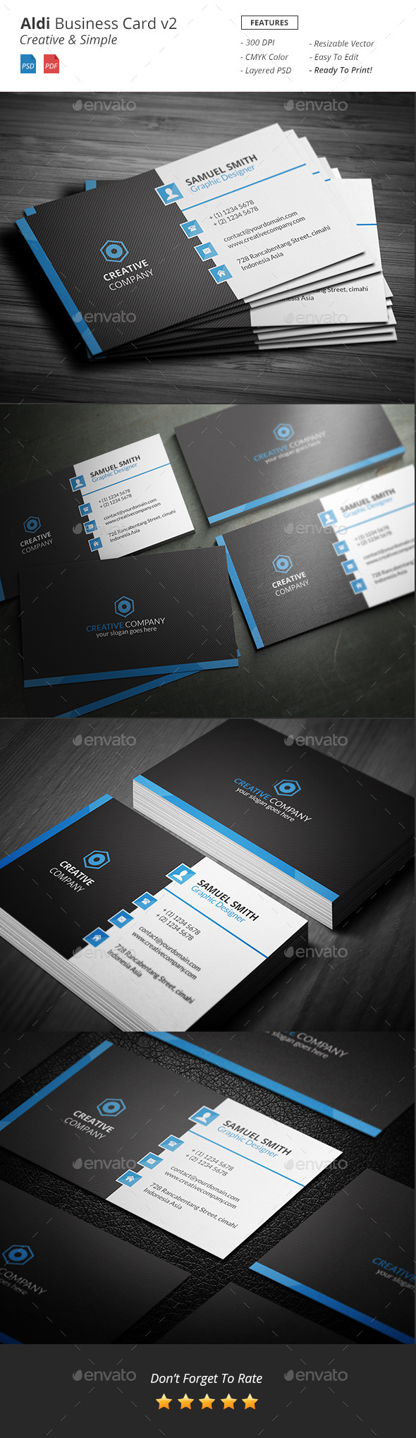 Aldi - Creative Business Card v2 - Creative Business Cards