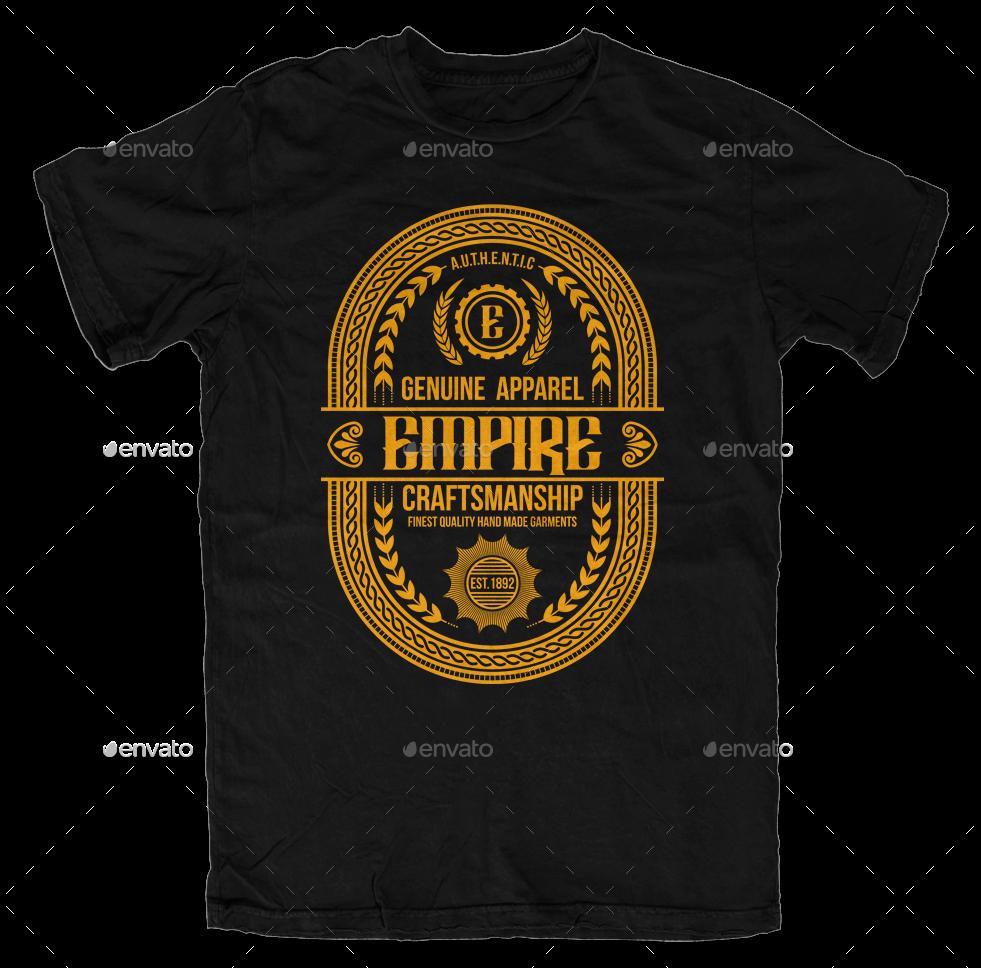 vintage t shirt template by svperkidz graphicriver. Black Bedroom Furniture Sets. Home Design Ideas