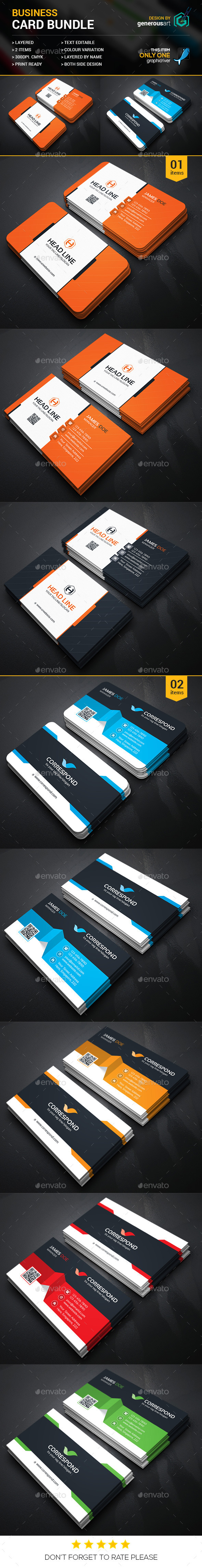 Business Card Bundle 2 in 1 3