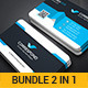 Business Card Bundle 2 in 1_3 - GraphicRiver Item for Sale