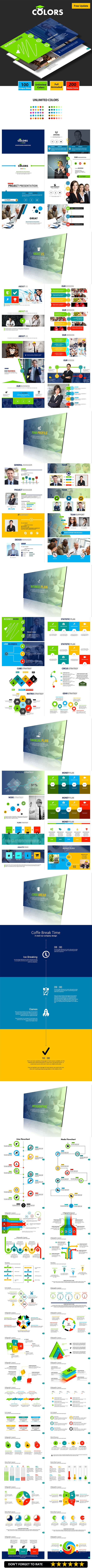 COLORS - Keynote Business Presentation - Business Keynote Templates